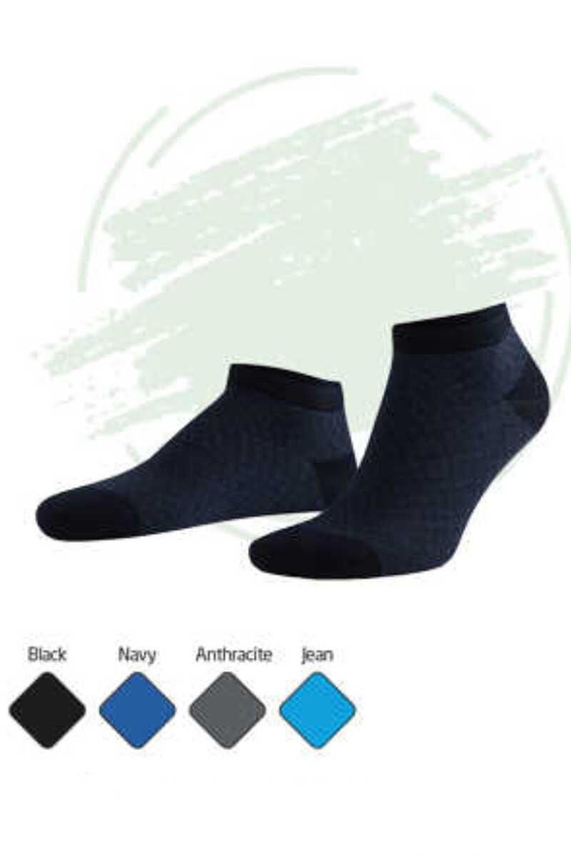 Aytuğ Erkek Patik Çorap Modal Desen 10
