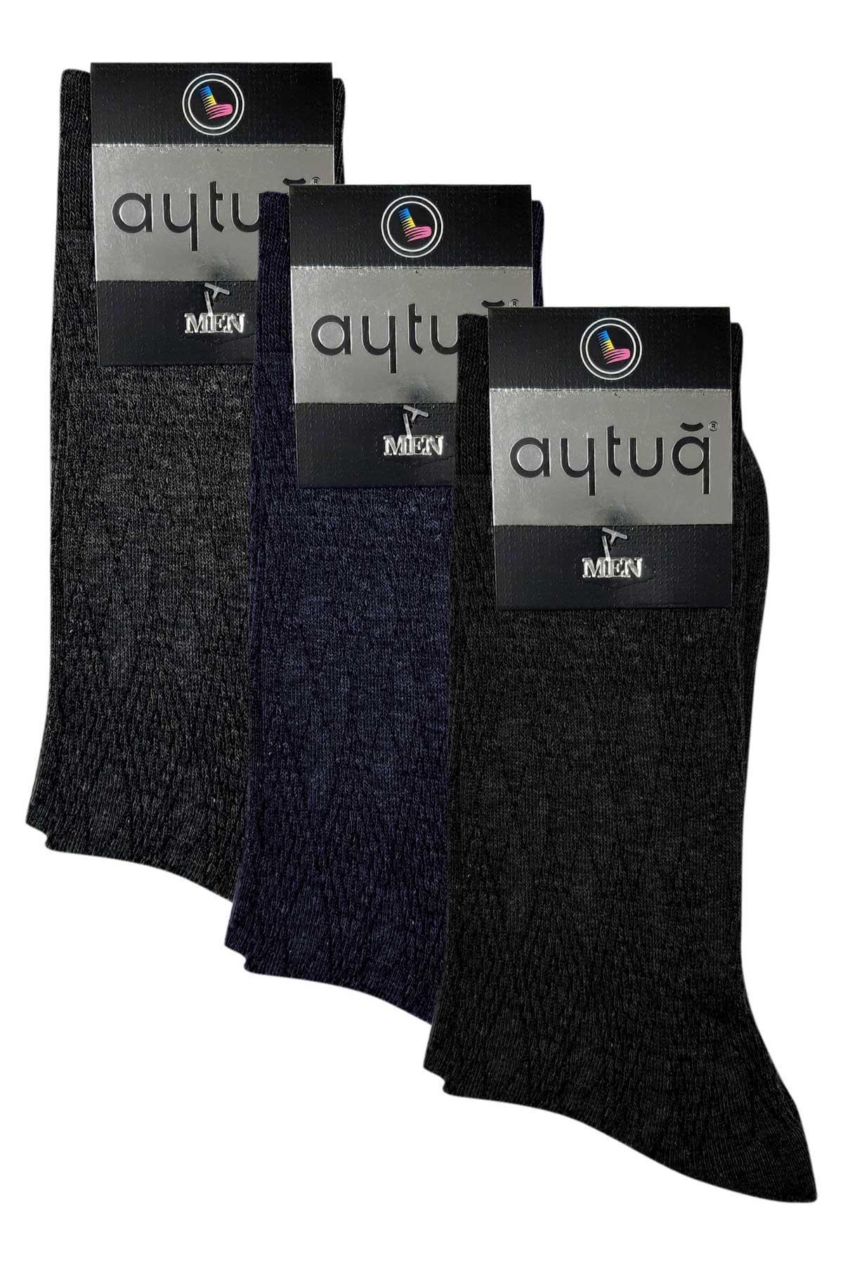 Aytuğ Erkek Soket Çorap Pamuklu - Thumbnail