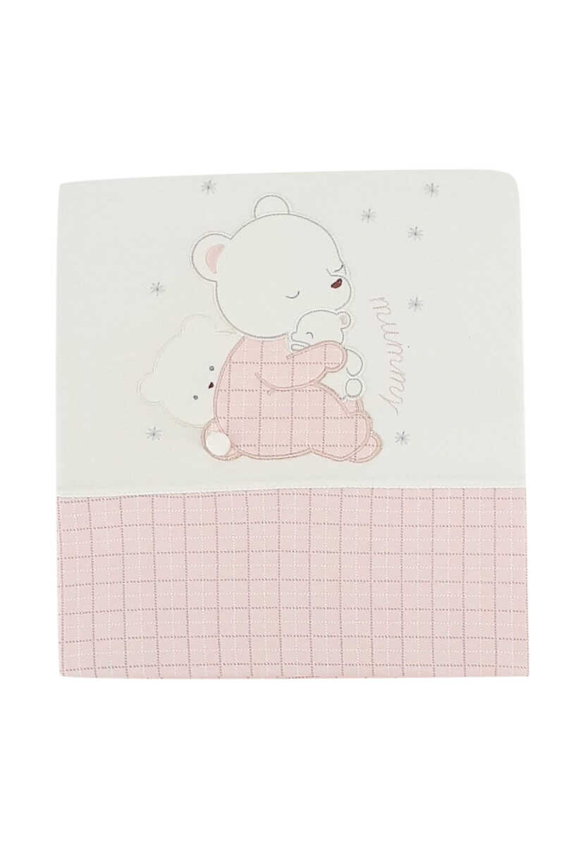Gaye Unisex Bebek Ayıcıklı Battaniye - Thumbnail