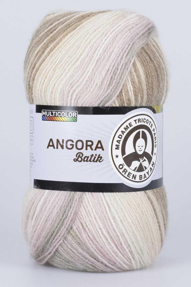 Ören Bayan Angora Batik El Örgü İpi 100gr - Thumbnail