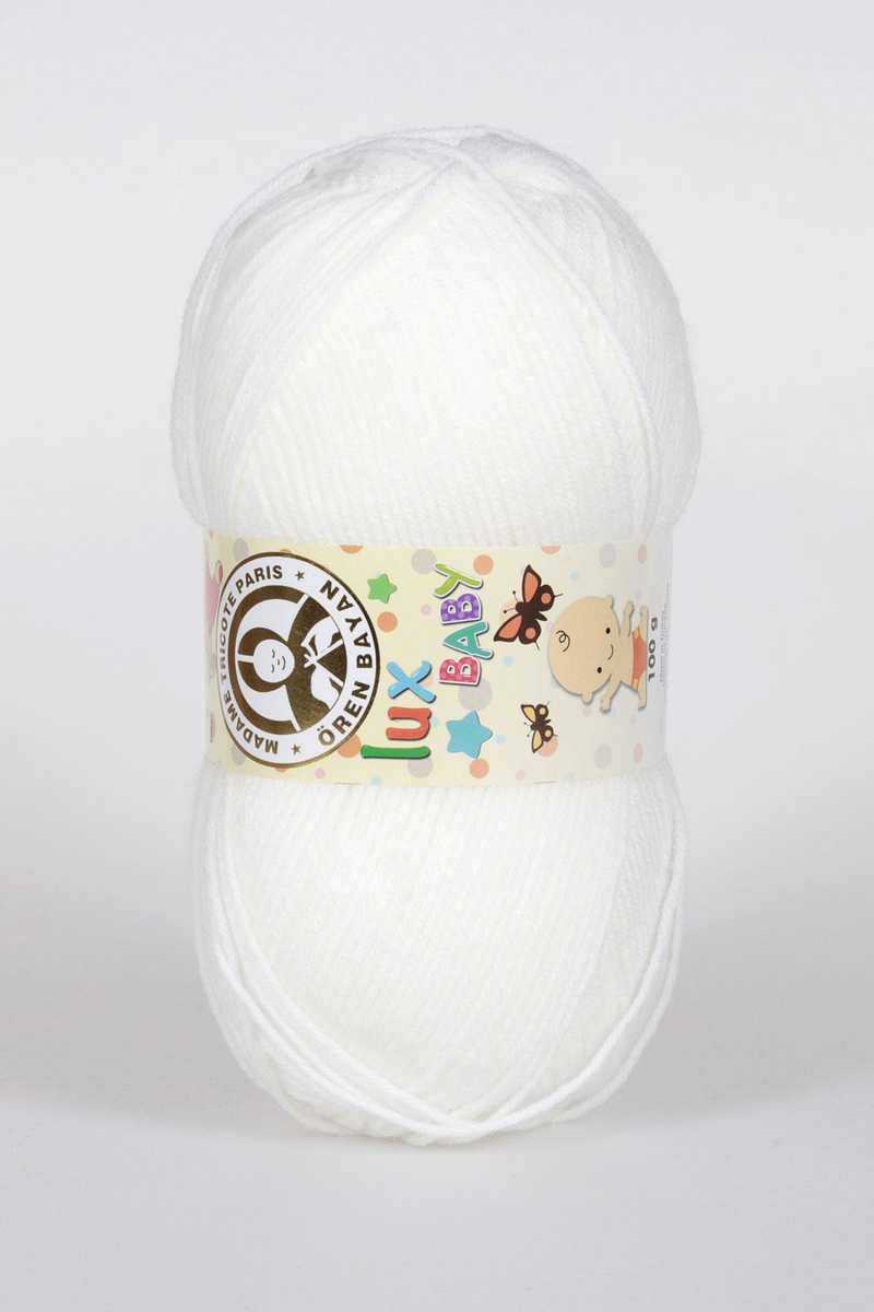 Ören Bayan Lux Baby El Örgü İpi 100gr - Thumbnail