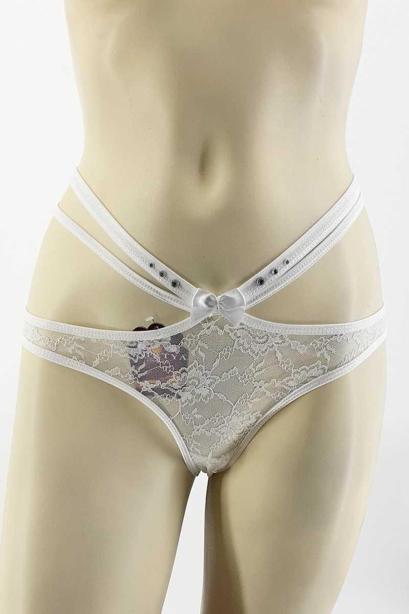Papatya Kadın Bikini Slip Külot 3 Katlı Bel Ön Lez Arka Mikro - Thumbnail