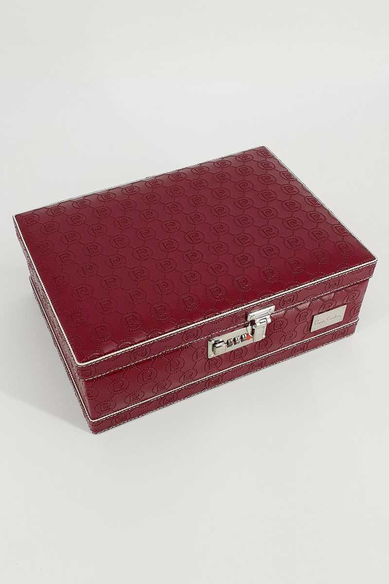 Pierre Cardin Erkek Boş Tıraş Kutusu Deri - Thumbnail