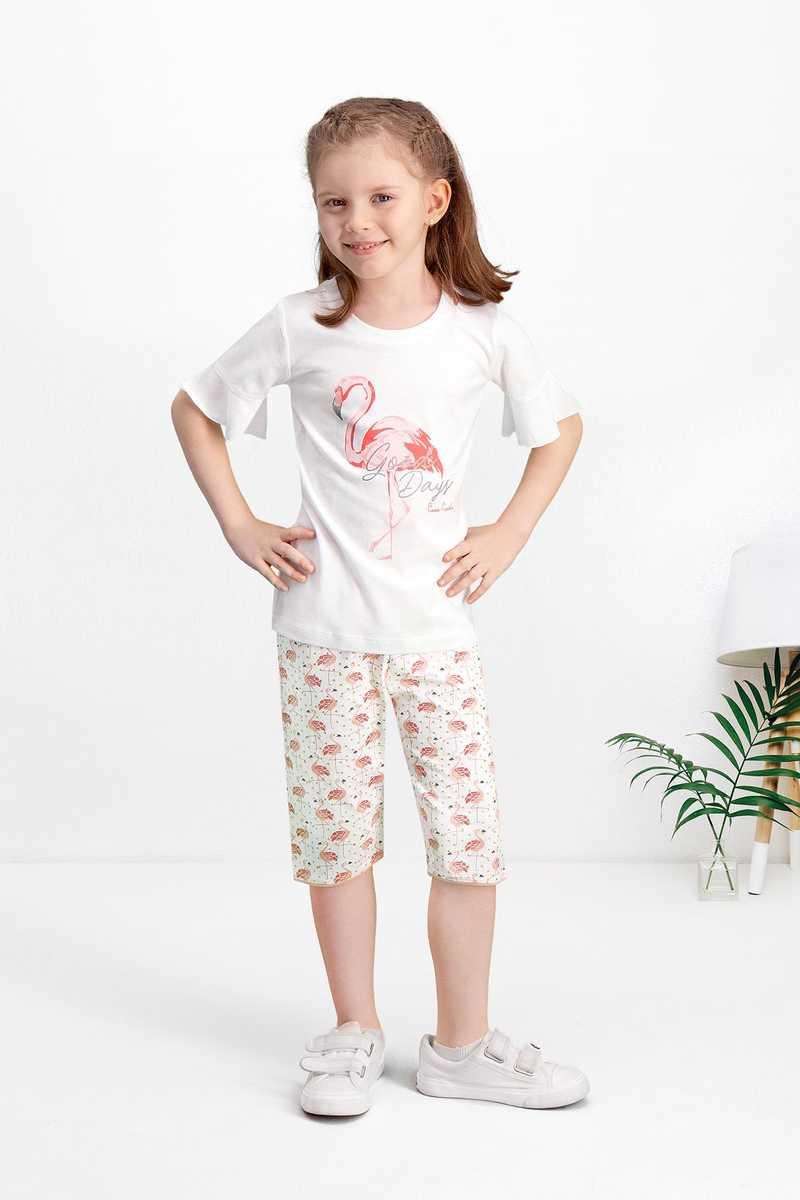 Pierre Cardin Kız Çocuk 2'li Kapri Takım (PCARDIN75084) - V1 - Thumbnail