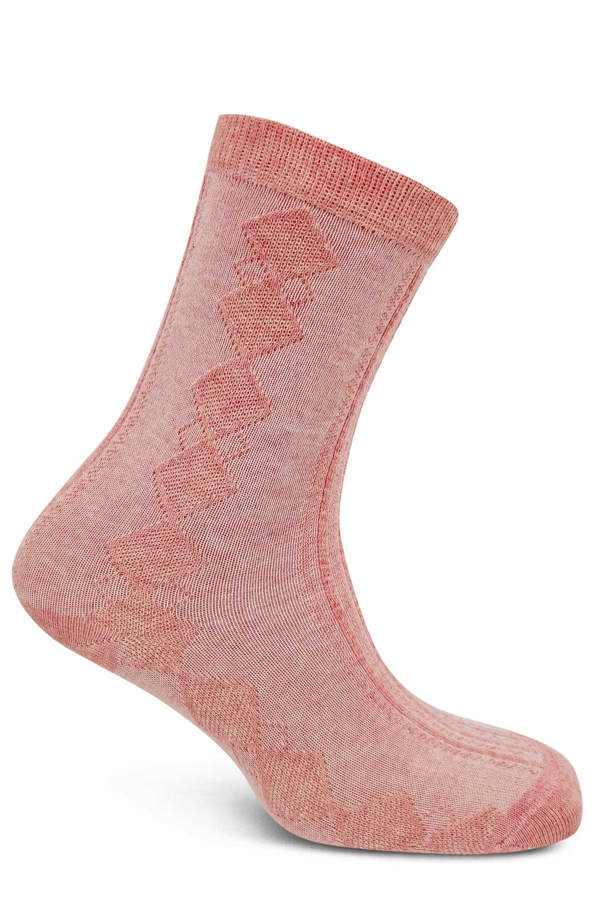 Şirin Kadın Soket Çorap Ekose Desenli (SIRIN415019) - Thumbnail
