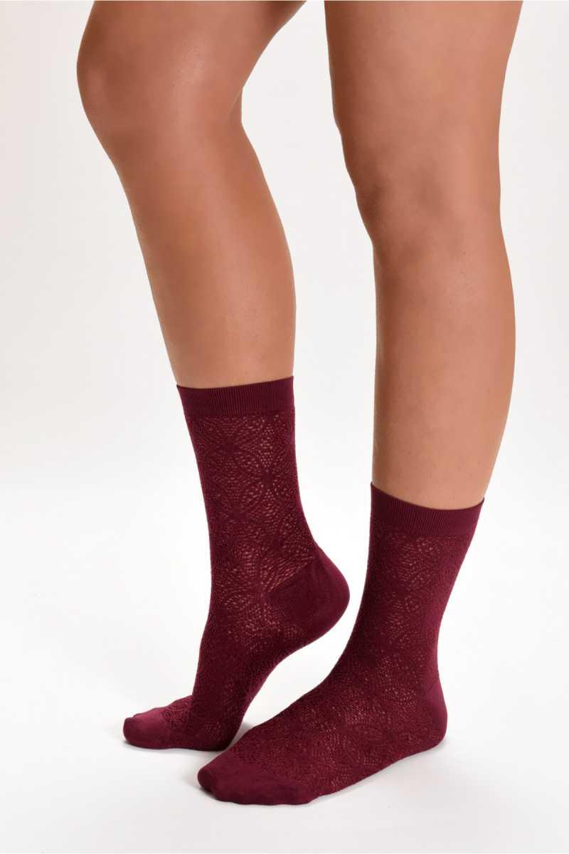 Söylemez Kadın Soket Çorap Kedili - Thumbnail