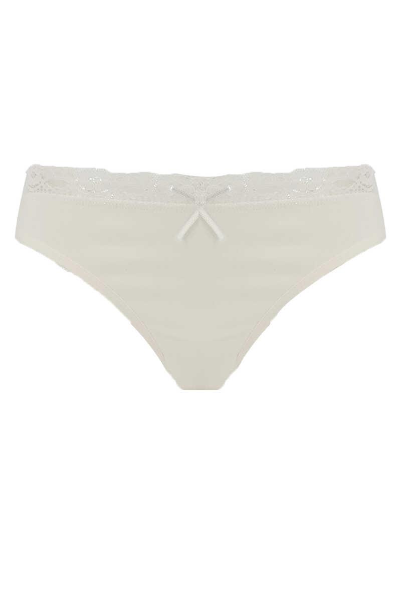 Yıldız Kadın Bikini Slip Külot Dantelli (YILDIZ3820)