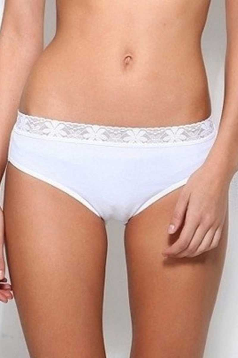 Yıldız Kadın Bikini Slip Külot Dantelli (YILDIZ3821)