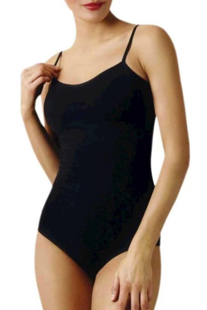 Yıldız Kadın Çıtçıtlı Body İp Askılı Likralı (YILDIZ2054)